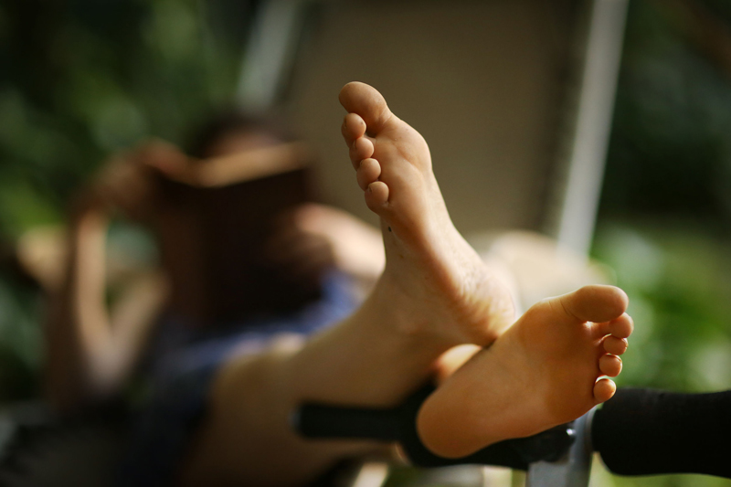 The non-surgical treatment of feet and ankles in P D Rehab