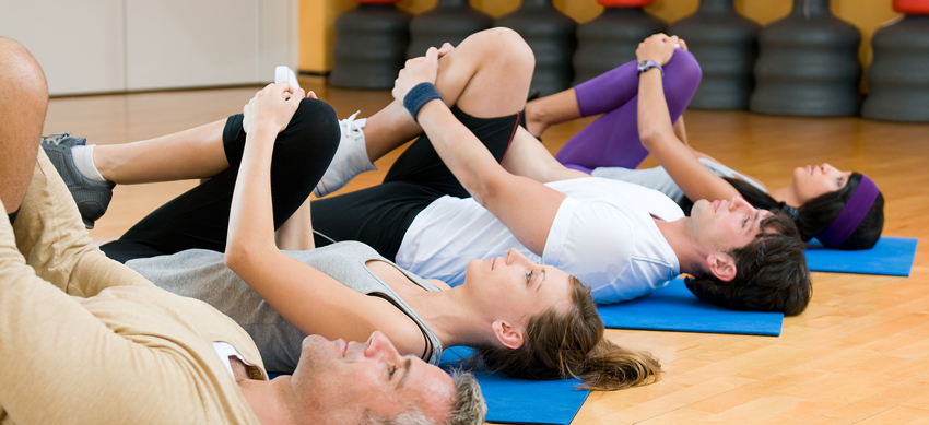 New fitness classes at PDR