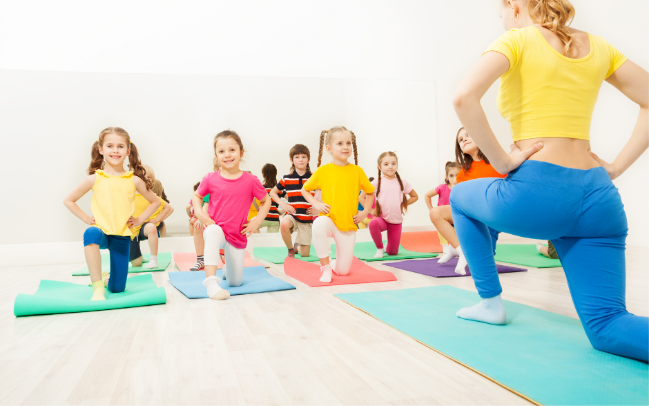 Gymnastics classes for children and youth